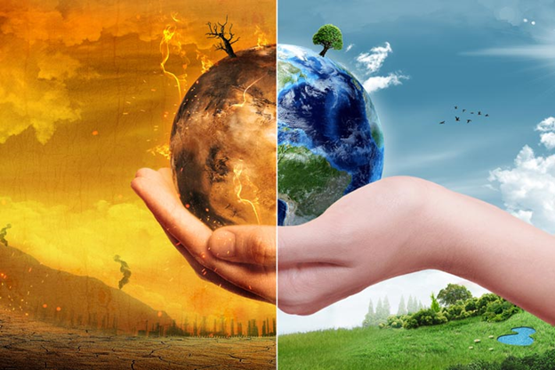 Climate change is happening and you can help now.