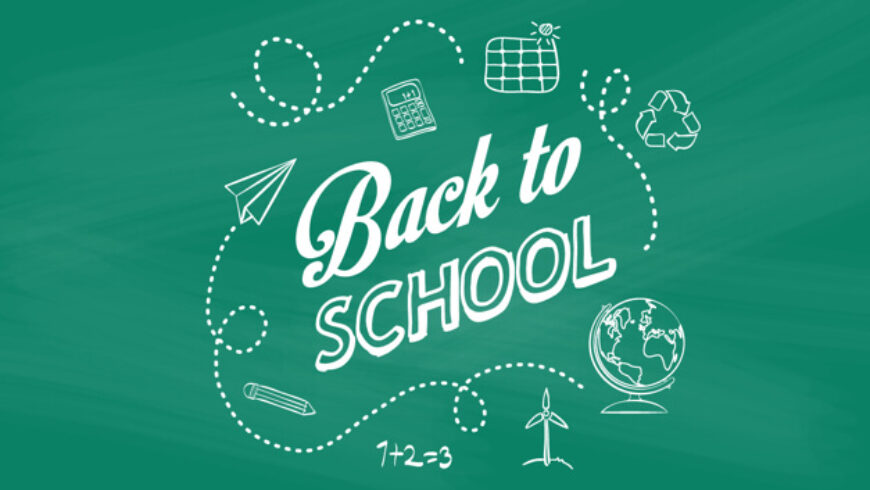 Back-to-school, back to planning for the Eco-conscious shopper